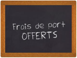 frais de port offerts