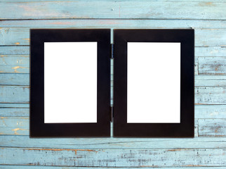 Two Vintage picture frame