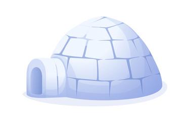 vector icon igloo