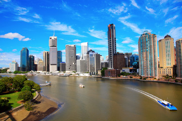 Brisbane River and City, Australia