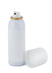 Spray with lid on white background.
