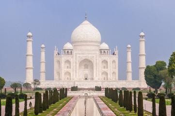 The incredible Taj Mahal in Agra, India