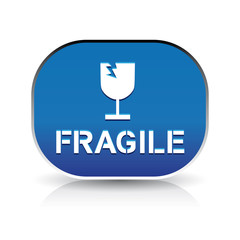 Fragile icon button