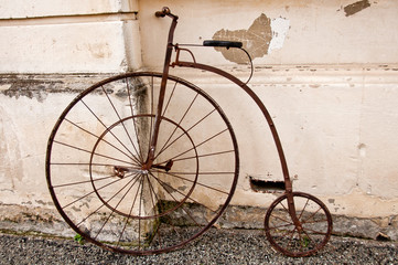 Vinatage Penny farthing bicycle