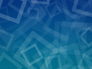 Blue-Cyan cubes background Lico Pattern 2