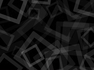 Black cubes background Lico Stars