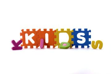 Color Letters blocks