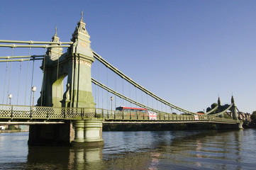 Hammersmith Bridge, West London