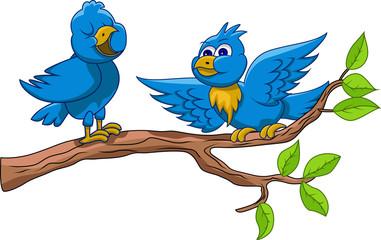 birds are singing