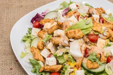 Chicken Salad (Macro View)