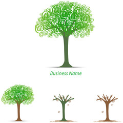 logo arobase tree