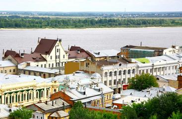 Oldest historical part of Nizhny Novgorod Russia