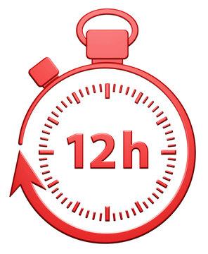 12H Chrono - Rouge