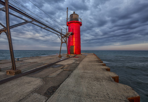 South Haven Michigan - Lighthouse
