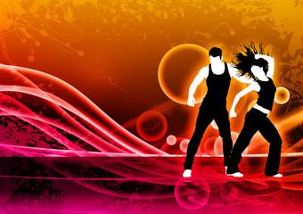 Zumba dance fitness