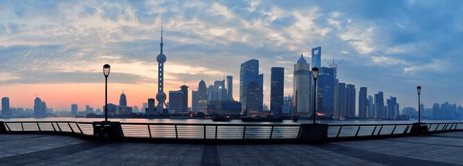 Fototapete - Shanghai morning