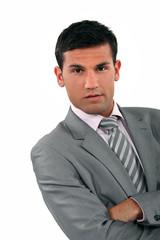 Arrogant businessman