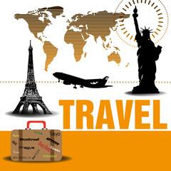 Traveling theme