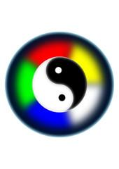 yin yang amulett