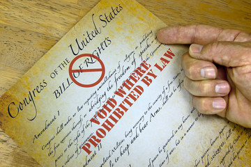 "Bill Of Rights, ""Voided By Law"""