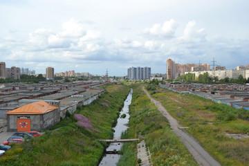 Outskirts of St.Petersburg, the area Kupchino