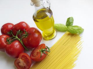 Italian Spaghetti Ingredients