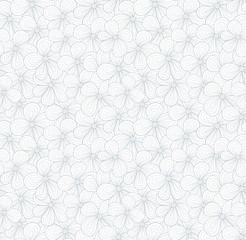 Seamless light blue flower pattern. Vector illustration