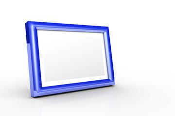 Aluminium Bilderrahmen Blau