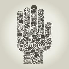 Hand business3