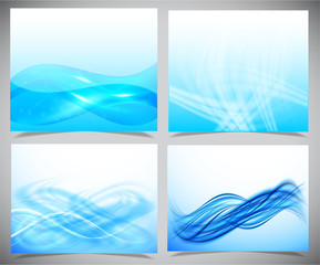 Blue and white modern futuristic backgrounds