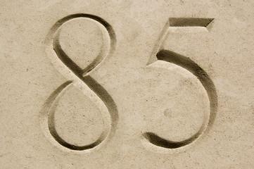 Number Eighty Five
