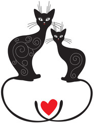 Pair of cats