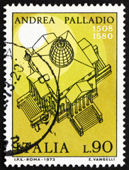 Postage stamp Italy 1973 Villa Rotunda, by Andrea Palladio