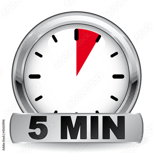 5 minutes icon stock image and royalty free vector files on fotolia