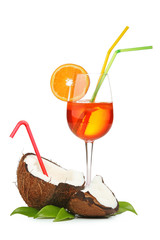Coconut and coctail