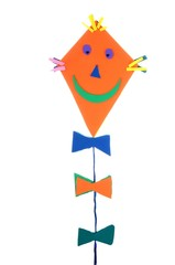 Home-made kite decoration - children style