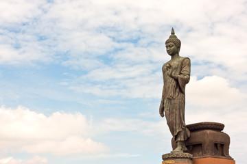 standing buddha in thailand