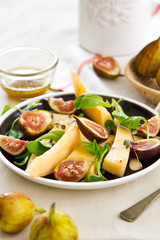 Fig and Melon with almond salad
