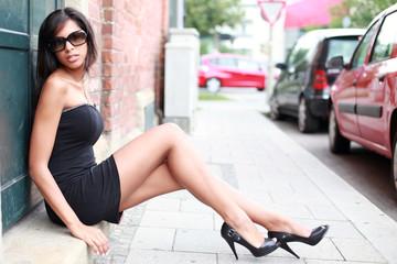 attraktive Frau