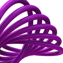 Wall Mural - Abstract 3d shape