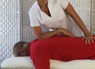 Easing a shoulder injury