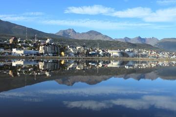 Der Hafen von Ushuaia Argentinien