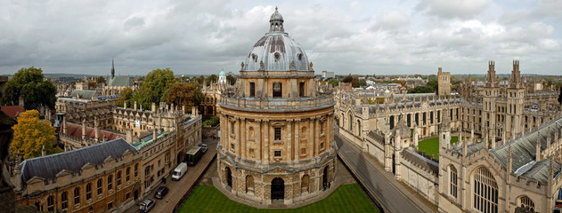 The Radcliffe Camera and All Souls College 1438