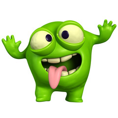 Recess Fitting Sweet Monsters crazy green monster