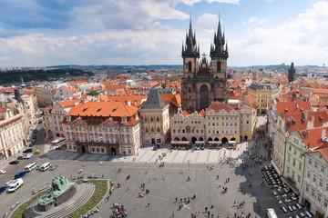 Fotobehang Praag Prague city. Panorama