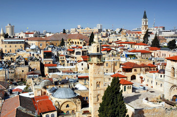 Jerusalem, Israel Cityscape
