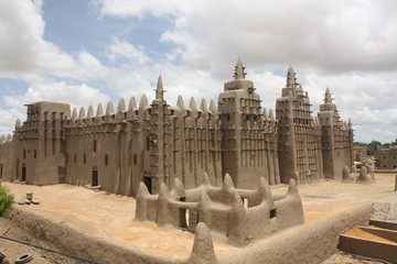 Big Mosque of Djenne, Grosse Moschee Djenne