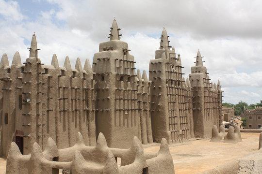 Big Mosque of Djenne, Grosse Moschee Djenne