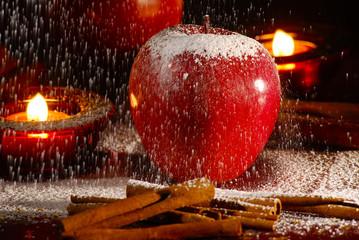 jabłko adwentowe świąteczne