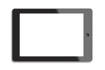 Generic tablet PC with white screen